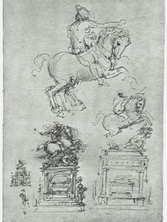 Trivulzio Monument, C1511 by Leonardo da Vinci