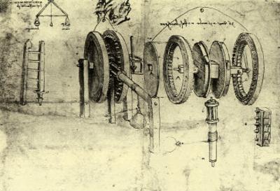 View of a Hoist by Leonardo da Vinci