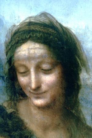 Virgin and Child with St Anne (Detail), 1502-1516 by Leonardo da Vinci