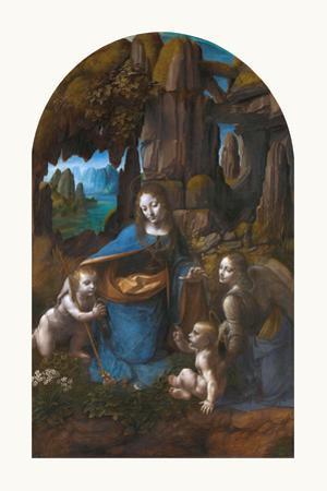 Virgin of the Rocks, 1495 - 1508 by Leonardo Da Vinci