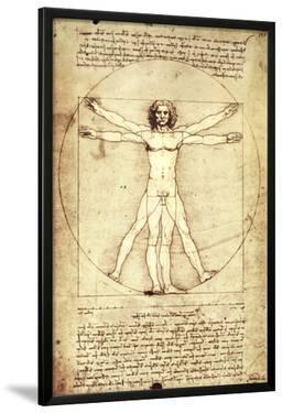 Vitruvian Man, c. 1492 by Leonardo da Vinci