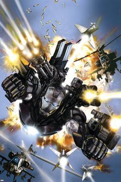 War Machine No.1 Cover: War Machine by Leonardo Manco