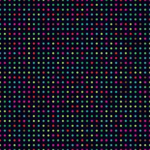 Bright Colorful Dots on a Dark Background by Leone_V