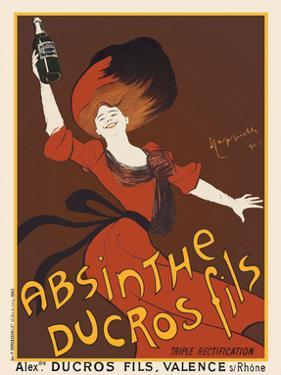 Absinthe Ducros Fils, 1890 by Leonetto Cappiello