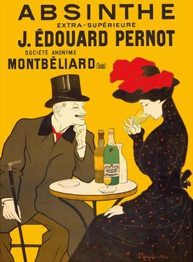 Absinthe Extra-Superior (Absinthe Extra-Supérieure) - J. Édouard Pernot Brand by Leonetto Cappiello