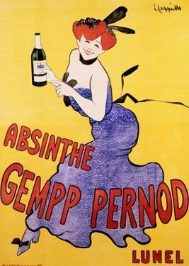 Absinthe Gempp Pernod, 1903 by Leonetto Cappiello