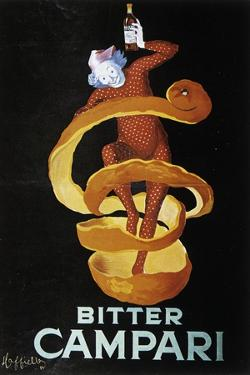 Advertising Poster for Bitter Campari by Leonetto Cappiello