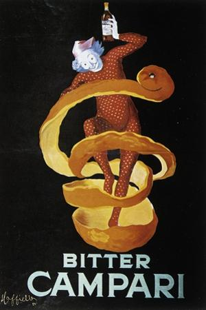 Advertising Poster for Bitter Campari by Leonetto Cappiello