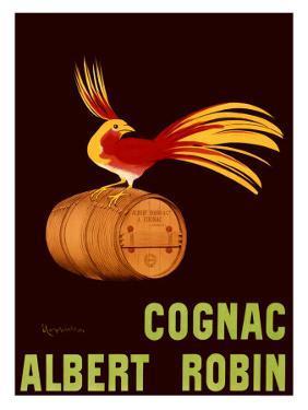 Albert Robin Cognac by Leonetto Cappiello