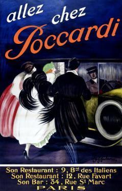 Allez Chez Poccardi by Leonetto Cappiello