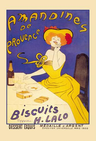 Amandines De Provence Biscuits by Leonetto Cappiello