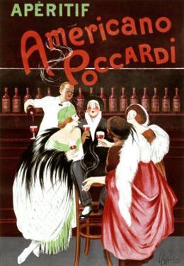 Aperitif Americano Poccardi by Leonetto Cappiello