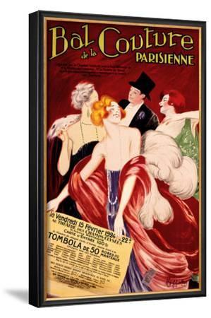 Bal de la Couture Parisienne by Leonetto Cappiello