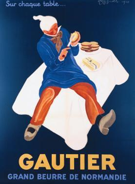 Beurre Gautier by Leonetto Cappiello