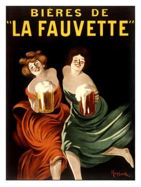 Bieres de La Fauvette by Leonetto Cappiello