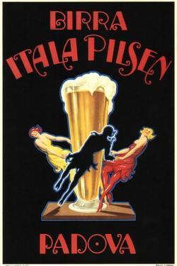 Birra Itala Pilsen by Leonetto Cappiello