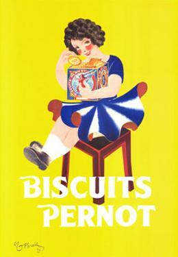Biscuits Pernot by Leonetto Cappiello