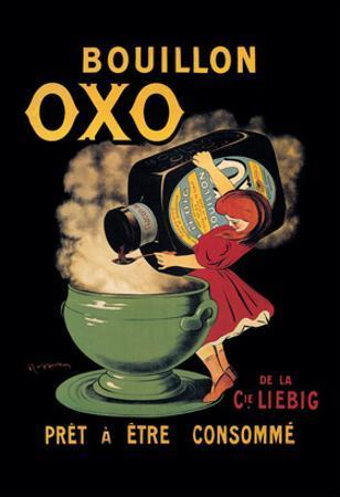 Bouillon Oxo by Leonetto Cappiello