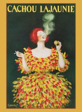 Cachou Lajaunie - Licorice Breath Mints by Leonetto Cappiello