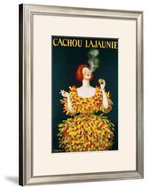 Cachou Lajaunie by Leonetto Cappiello