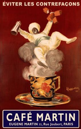 Cafe Martin by Leonetto Cappiello