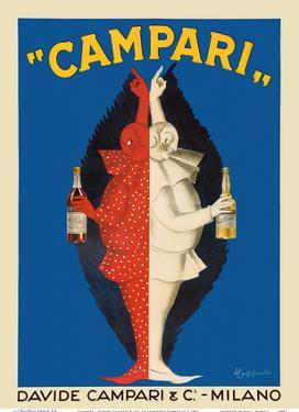 Campari - Davide Campari & Co. - Milano, Italy by Leonetto Cappiello