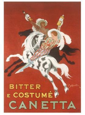 Canetta, Bitter e Costume by Leonetto Cappiello
