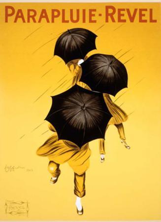 Cappiello Parapluie Umbrella Poster by Leonetto Cappiello