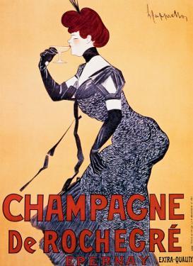 Champagne de Rochecre by Leonetto Cappiello