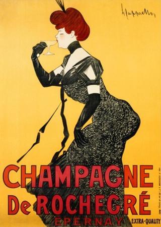 Champagne de Rochegre, ca. 1902 by Leonetto Cappiello