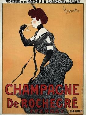 Champagne De Rochegre by Leonetto Cappiello