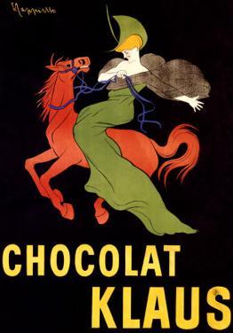 Chocolat Klaus by Leonetto Cappiello