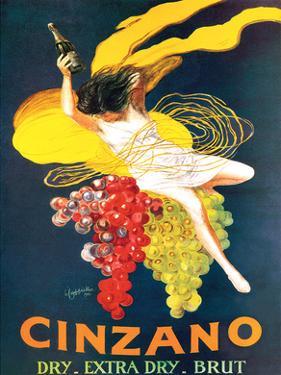 Cinzano Brut Vintage Ad by Leonetto Cappiello