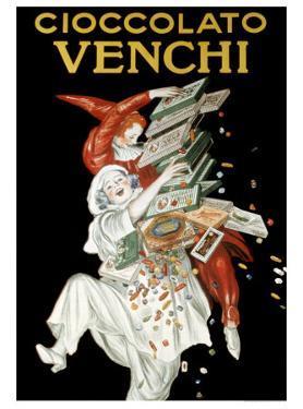 Cioccolato Venche by Leonetto Cappiello