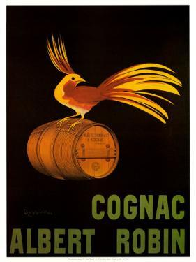 Cognac Albert Robin by Leonetto Cappiello