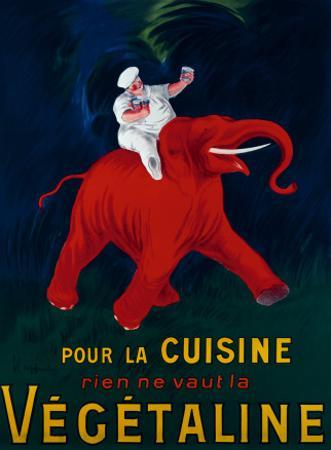 Cuisine Vegetaline by Leonetto Cappiello