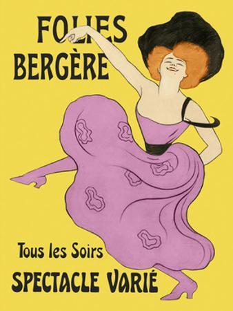 Folies-Bergere, 1900 by Leonetto Cappiello
