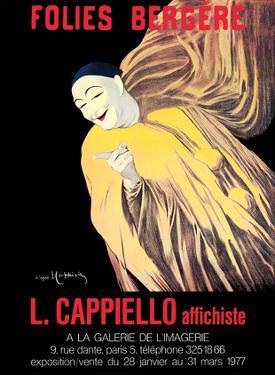 Folies Bergère - Art Exhibition of Leonetto Cappiello Posters - Mime Severin (1863-1930) by Leonetto Cappiello