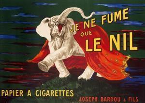 Je ne fume que Le Nil, 1912 by Leonetto Cappiello