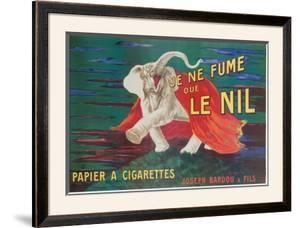 Je Ne Fume Que Le Nil by Leonetto Cappiello