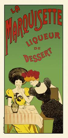 La marquisette liqueur de dessert by Leonetto Cappiello