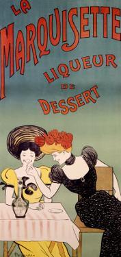 La Marquisette Liqueur by Leonetto Cappiello