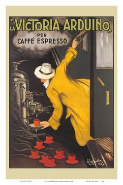 La Victoria Arduino - Coffee Maker - Caffé Espresso by Leonetto Cappiello