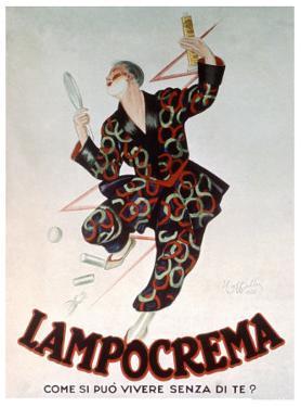 Lampocrema by Leonetto Cappiello