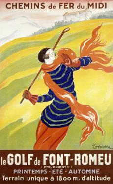 Le Golf de Font-Romeu by Leonetto Cappiello
