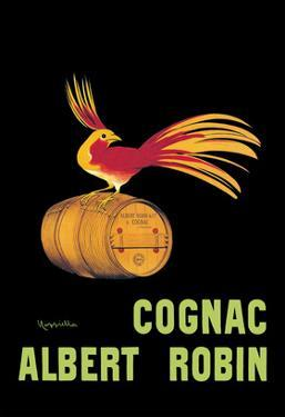 Les Cognac Albert Robin by Leonetto Cappiello