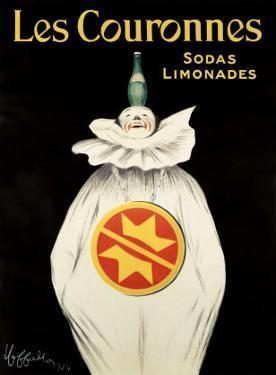 Les Couronnes, Sodas Limonades by Leonetto Cappiello