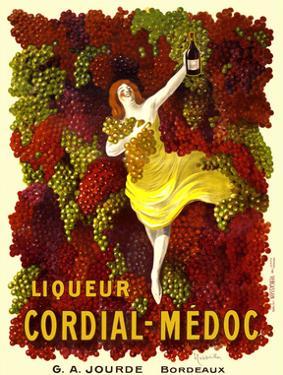 Liquer Cordial-Médoc, G. A. Jourde - Bordeaux by Leonetto Cappiello