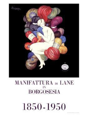 Manifattura di Lane by Leonetto Cappiello