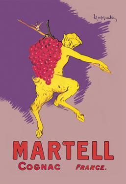 Martell Cognac - France by Leonetto Cappiello